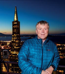 Chuck Haney, photographer of Portrait of San Francisco.