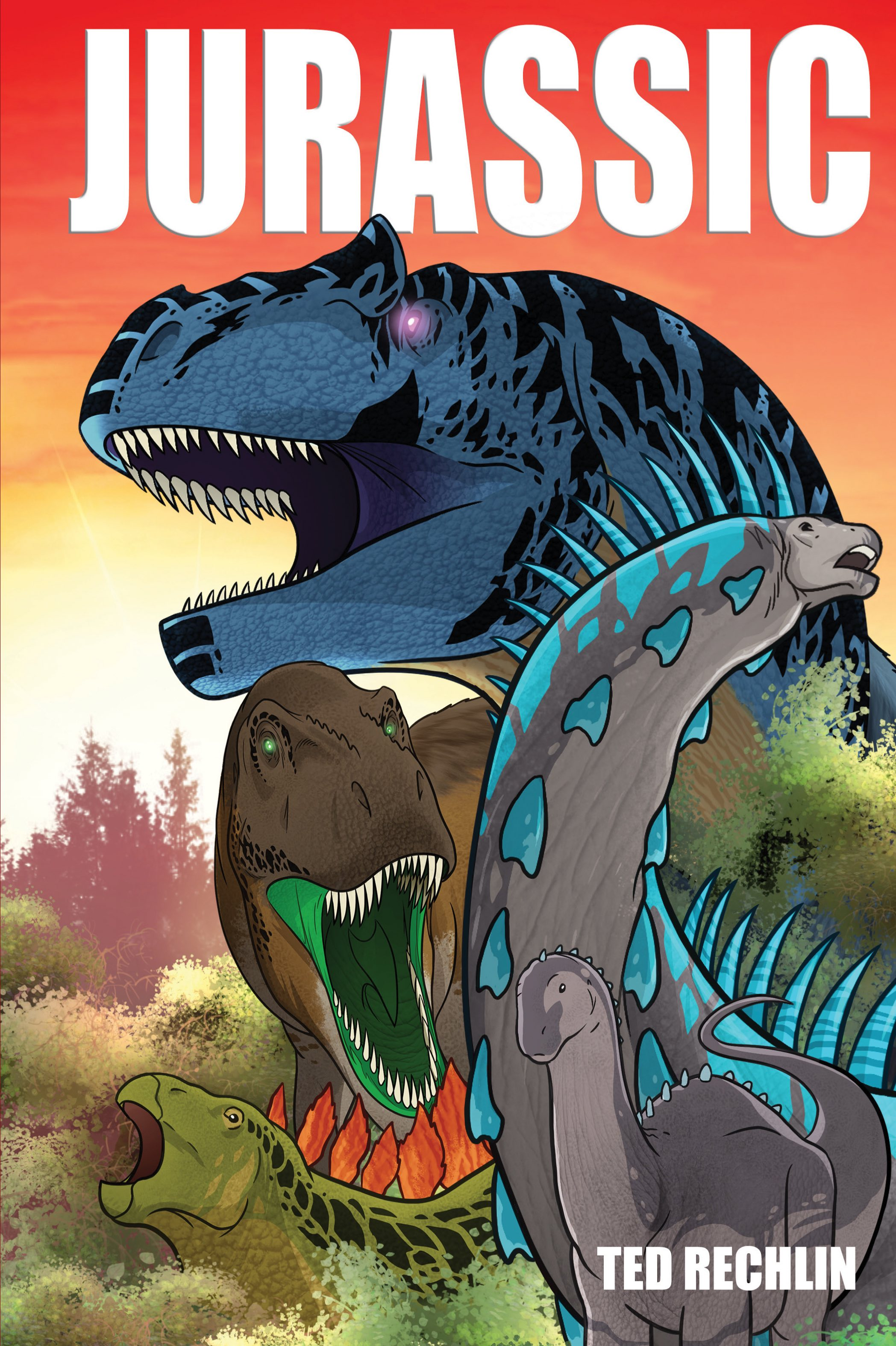 Ted Rechlin - Jurassic Graphic Novel