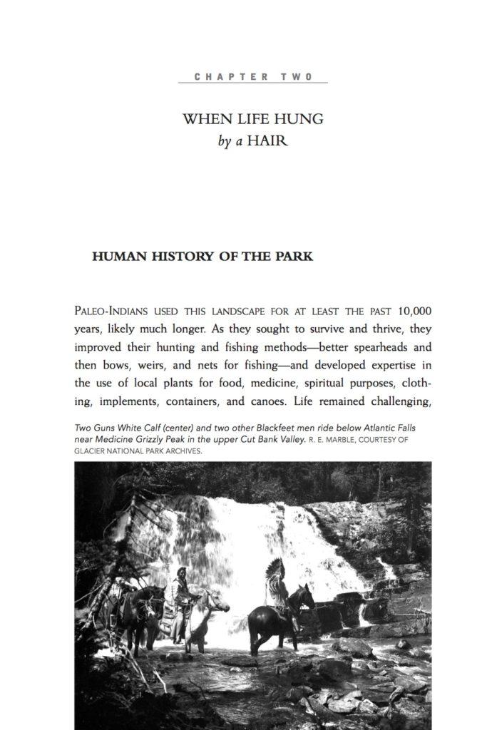 Death and Survival in Glacier Interior - Human History of GNP