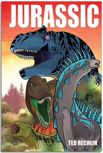 Jurassic Cover - Rextooth Studios - Dinosaur Graphic Novel