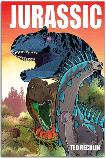 Jurassic Cover - Rextooth Studios - Dinosaur Graphic Novel