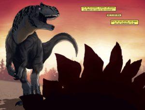 Jurassic Ted Rechlin - Rextooth Studios - Allosaurus