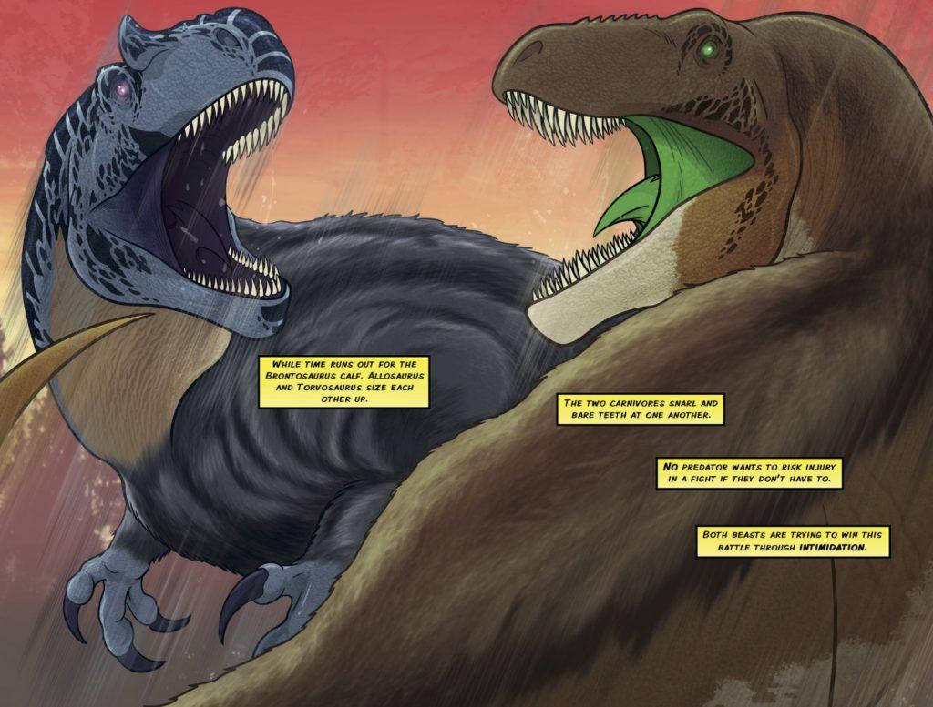 Jurassic Ted Rechlin - Rextooth Studios - Torvosaurus